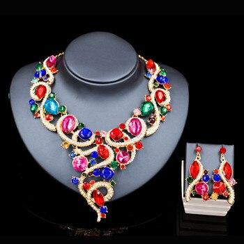 Gorgeous Crystal Jewelry Set 5
