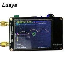 NanoVNA сетевой анализатор 50 кГц-300 МГц цифровой 2,8 дюймовый сенсорный ЖК-дисплей коротковолновый MF HF VHF UHF постоянный волновой антенный анализатор I4-001