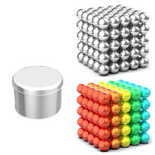 цена на 5mm 216pcs/set wholesale Magnet Metal Balls Magnetic stick Building Blocks Construction Designer Creative Educational Toys Kids