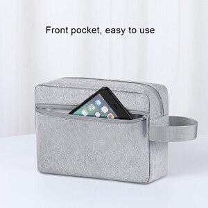 Image 4 - BUBM 旅行アクセサリーオーガナイザー防水電子デジタル USB イヤホン充電器データケーブルオーガナイザー収納データバッグ