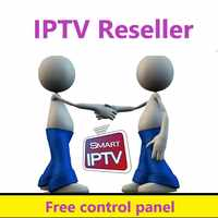 IPTV Reseller control panel with subscriptions 10000+ Live VOD IPTV Serve For Android TV Box Phone M3U France Dutch europe iptv
