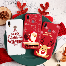 Merry Christmas For TPU Huawei Y9 Y7 Y6 Prime Pro 2019 2018 Honor 9X Pro 8E 8A 8X 20i 10i View 20 10 Lite Play 7A Pro 7C 7X Case(China)