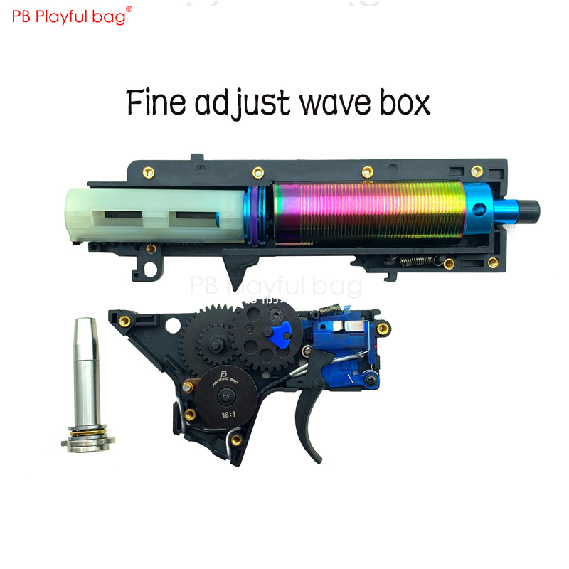 Outdoor Fun Toy Wave Box Fb3.0 Split Blasting Upgrade Material Water Bomb Gun Internals Fine Adjustment Accessories Nd05
