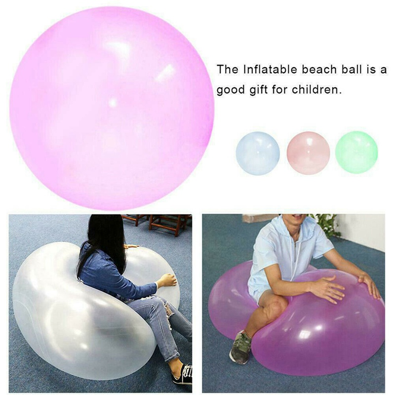 Bubble Ball Swimming Pool Toys Balloon Pools Accessories Summer Gift For Kids Party Outdoor Soft Air Water Filled Inflatable