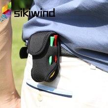 Супер эластичный мини портативный держатель для мяча для гольфа, маленькая сумка SBR, неопреновый поясной пакет, инструмент для хранения, аксессуары для гольфа Z70