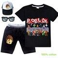 Детская одежда ROBLOXing, одежда для маленьких мальчиков, Мультяшные наряды, летние детские футболки для девочек, костюмы, детская одежда, футбо...