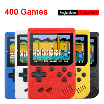 Retro Portable Mini Handheld Video Game Console 8-Bit 3.0 Inch Color LCD Kids Color Game Player Built-in 400 games 1