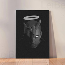Eminem Large Poster Art Print Black /& White Card or Canvas