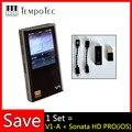 V1-A + SONATA HD PRO TempoTec HIFI PCM & DSD 256 плеер Поддержка Bluetooth LDAC AAC APTX IN & OUT USB DAC для ПК с ASIO AK4377ECB