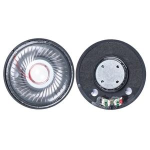 Unidade de alto-falante fone de ouvido 50mm driver 32ohm 112db alto-falante alta fidelidade peças reparo loundfalante diy alta qualidade 2pcs