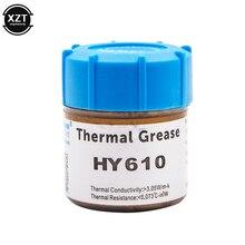 HY610 20g процессор процессорный кулер вентилятор охлаждения Термопаста Соединение Золотой теплоотвод проводящая штукатурка паста
