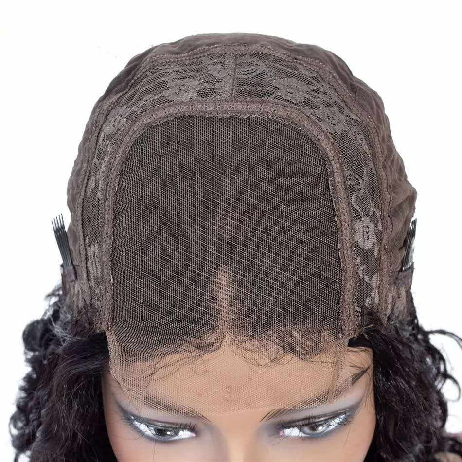 Pixie Cut Short Lace Closure Wigs For Women Lace Wigs Human Hair Curly Human Hair Wigs Remy Lace Closure Wig Pre plucked
