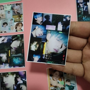 New 16Pcs/set KPOP TXT New Album The Dream Chapter: MAGIC Series Photo Card PVC Cards Self Made LOMO Card Photocard(China)