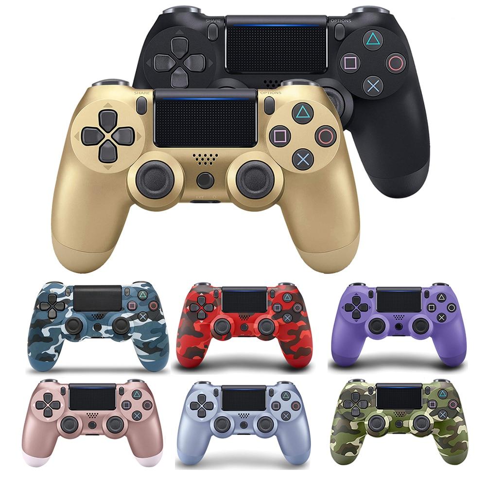 220.24грн. 34% СКИДКА|Беспроводной геймпад для PS4 контроллер Bluetooth беспроводной контроллер для PS4 Геймпад подходит для PS3 для Dualshock 4 виброджойстик|Геймпады| |  - AliExpress