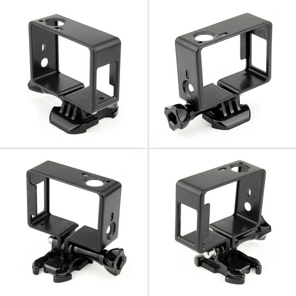 For GoPro Hero 4 3+ 3 Protective Border Frame Case Camcorder Housing Case For Go Pro Hero4 3+ 3 Action Camera Accessories