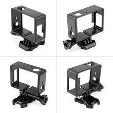 עבור GoPro Hero 4 3 + 3 מגן גבול מסגרת מקרה למצלמות דיור דרכי פרו Hero4 3 + 3 פעולה מצלמה אבזרים