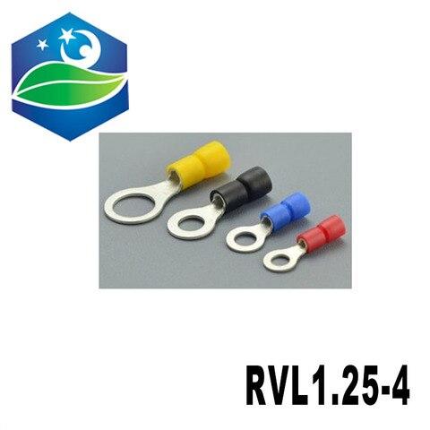 conector terminal prensado frio alto dos pces 1000 do cobre vermelho rvl1 25 4 da