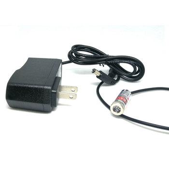 Pozycjonowanie aktywne diody LED 650nm 5mw linia ostrości wiązka czerwona dioda moduł laserowy w Adapter AC światła dj-skie Dia 12mm tanie i dobre opinie Jolooyo CN (pochodzenie) Stage lighting effect Mini 650ML-5-1230-AC-ADPT Profesjonalne stage dj