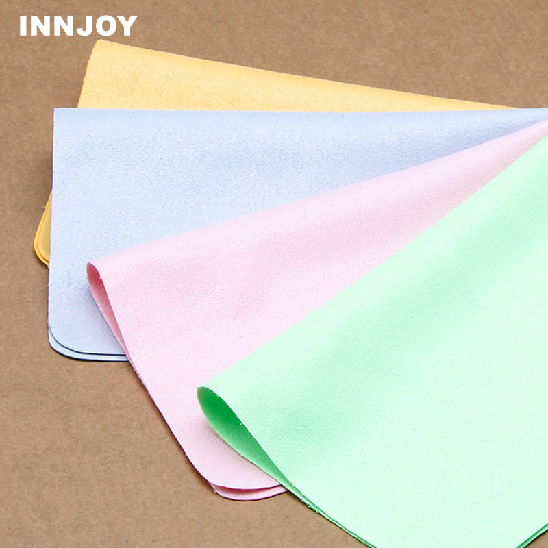 1PCS High Quality Chamois Glasses Cleaner 145*175mm Microfiber Glasses Cleaning Cloth For Lens Phone Screen Cleaning Wipes