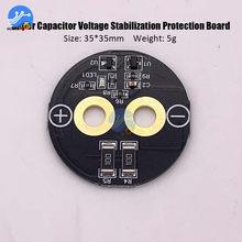 1 cuerda 2,5 V-3V 360-700F Super condensador protección de equilibrio círculo 2,5 V-3V 500F 400F 650F condensador equilibrado