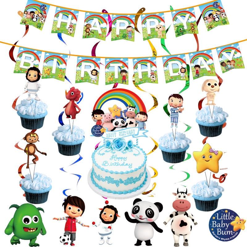 Маленький ребенок бум тема вечерние украшения посуда бумажный стаканчик, тарелка салфетки шляпа скатерть Baby Shower Детские День рождения вече...