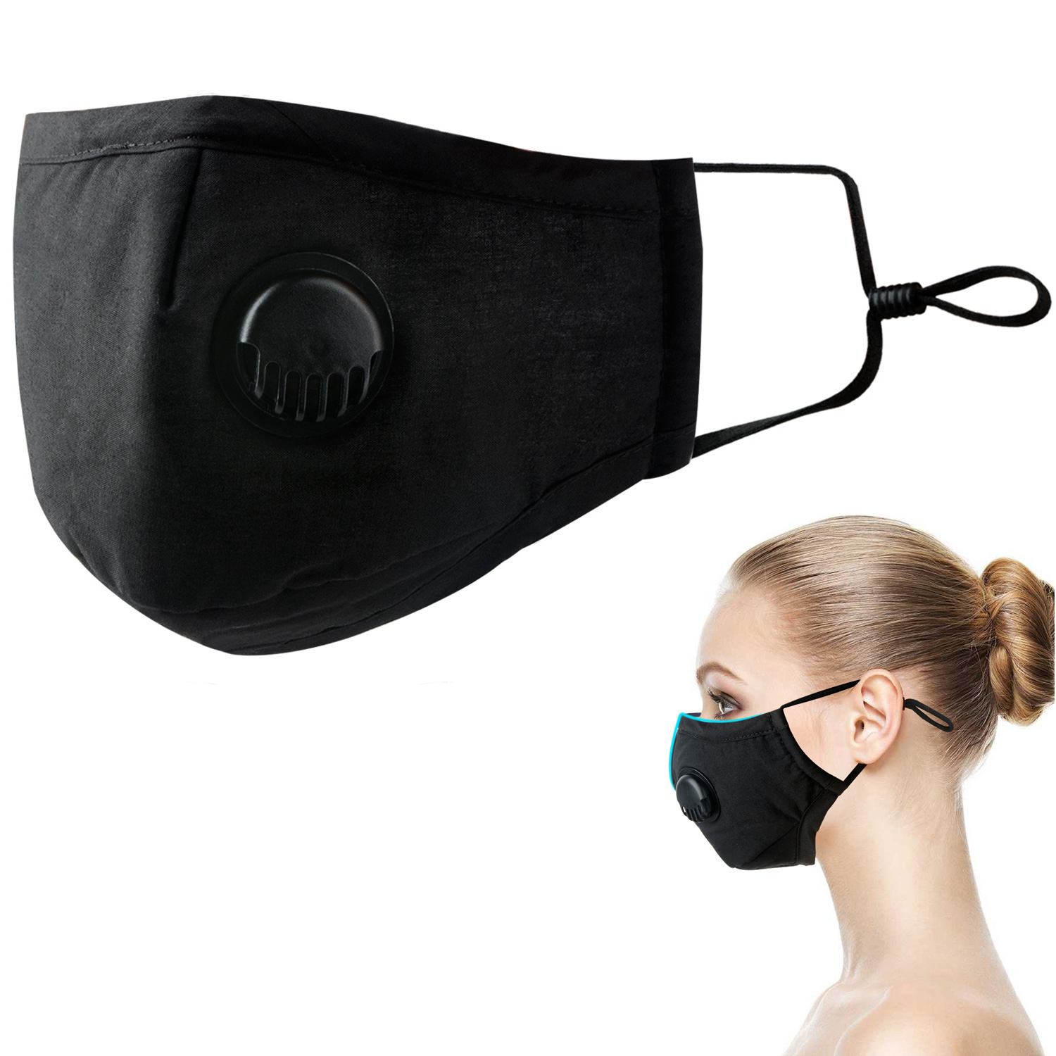 Cotton Mask Mouth Respirator PM 2.5 Activated Carbon Mask Dustproof Sport Ski Face Anti-dust Filter Mouth-muffle