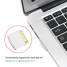 Portable Mini Size TF Card to Secure Digital Memory Adapter For MacBook Pro Air Drive White Drop Shipping