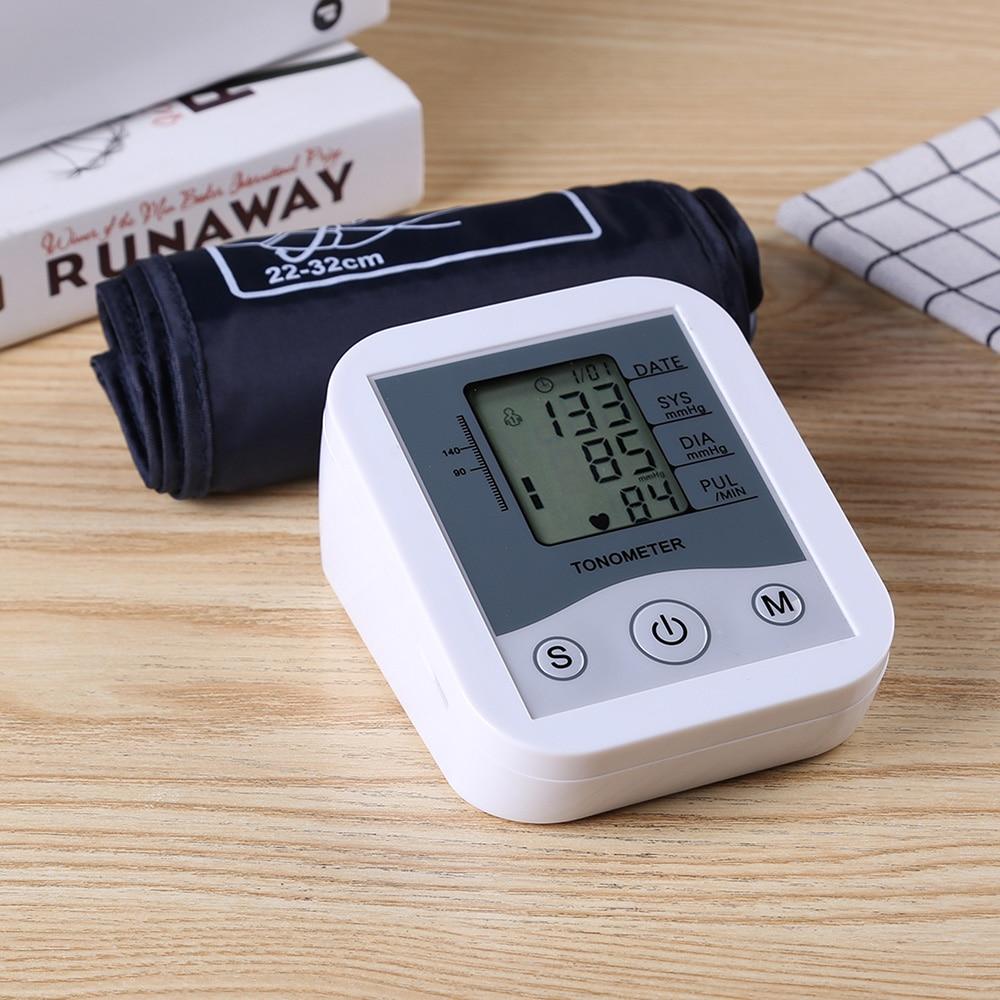 Image 5 - LCD Digital Display Arm Blood Pressure Monitor Pulse Scanning Oscillometry Two Measuring Method for Measuring Pulse RateBlood Pressure   -