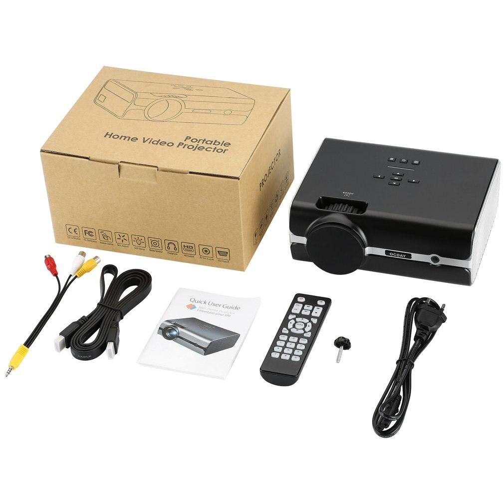 BL-45 4 pouces LCD projecteur 1080P écran USB Portable Mini projecteur cinéma maison