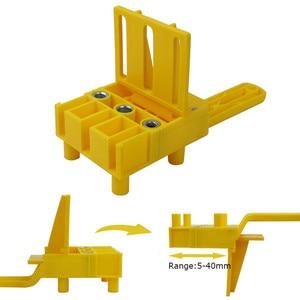 Новый дюбель джиг 6 8 10 мм Дерево HSS сверла деревообрабатывающий джиг ABS пластик карманное отверстие джиг дрель Руководство инструмент для столярных работ
