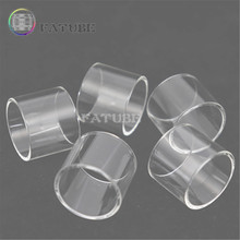 5pcs FATUBE Straight Glass Cigarette Accessories for ELLO 4ml/ELLO DURO 5ML/PICO 25 4ml/ijust 3 5ml/Ello Vate/Eleaf ELLO TS Tank eleaf ello series coil head hw1 0 2ohm hw2 0 2ohm hw3 0 3ohm hw n 0 2ohm hw m 0 15ohm for eleaf ello series tank vape vaporizer