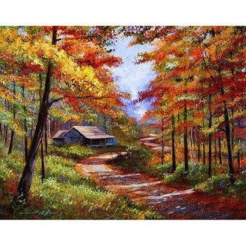 Landscape Landscape Paint By Numbers Alca Cartel