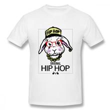 Original Hip Hop Easter Bunny Casual O-Neck Mens Basic Short Sleeve T-Shirt 100% Cotton Tee Shirt Printed