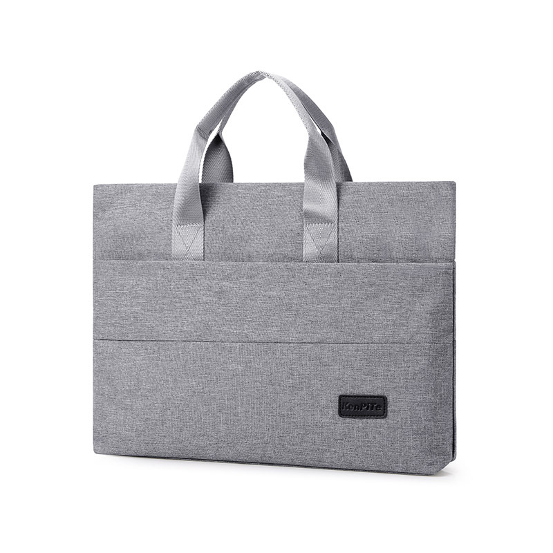 Laptop Bag 2019 Winter Computer Briefcase Hand Computer Bag Apple MacBook Tablet Computer Bag Gray Fashion Free Shipping Bolsas