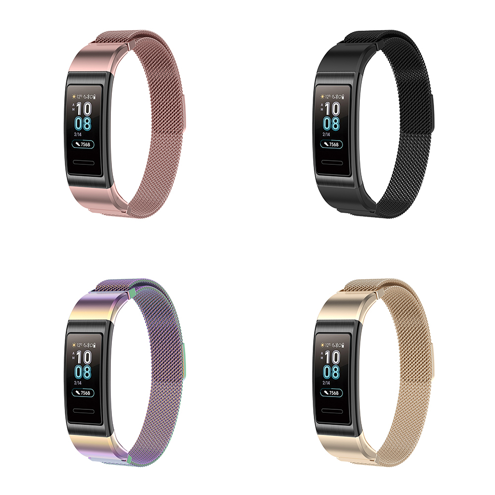 Image 2 - Best Selling Wristband Strap Replace for Huawei Bracelet Band 3/Pro TER B09 TER B29 Bracelet stainless steel-in Smart Accessories from Consumer Electronics