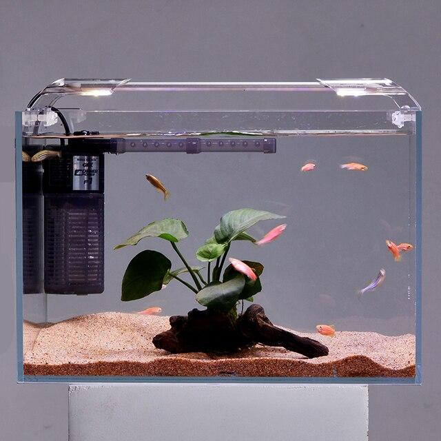 Super Slim LED Aquarium Lighting Aquatic Plant Light 86-95CM Extensible Waterproof Clip on Lamp  5