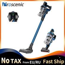 Proscenic p10 handheld aspirador de pó sem fio portátil recarregável casa aspirador ciclone filtro coletor poeira