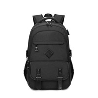 2019 New Backpack Male USB Backpack Oxford Waterproof Student Bag Travel Outdoor