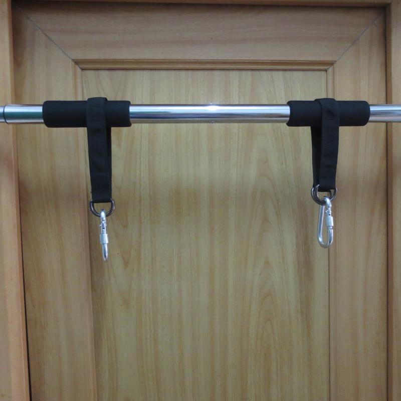 Equipamento de treino multifuncional gancho anel pendurado cinto com gancho pendurado saco de areia puxar para cima corda equipamentos fitness acessórios