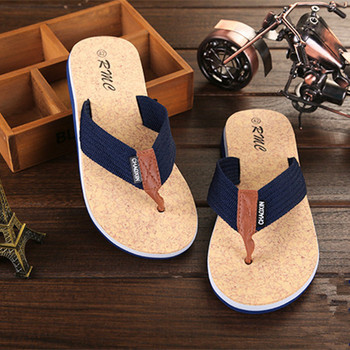 2020 Indoor And Outdoor Men's Slippers Summer Flip Flops Men's Slippers Fashion Beach Casual Shoes Slippers Men Slides sandals men 2020 summer beach shoes leather outdoor indoor breathable casual slippers men flat shoes fashion black flip flops