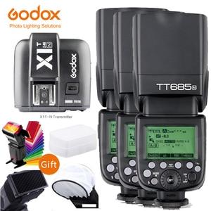 Image 4 - Godox TT685 TT685N 2.4G sans fil i ttl haute vitesse sync 1/8000s GN60 Flash Speedlite X1T N déclencheur pour appareil photo Nikon