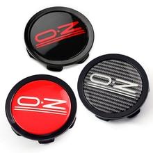 For O.Z Superforgiata Alloy Wheel Center Cap M608 Set of 4 Rim Center Badge 75mm Inside 70mm