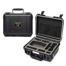 Hardshell saco caixa de armazenamento mala para dji mavic ar à prova dwaterproof água caso transporte ao ar livre portátil caixas proteção zangão acessório