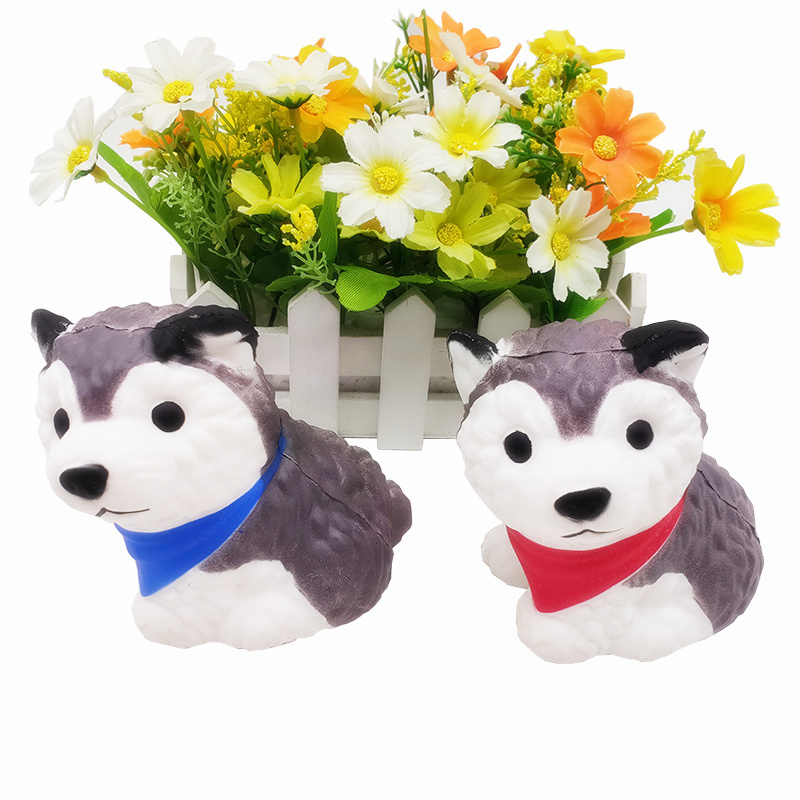 Squishy Toys Squeeze Rising Small Soft Kawaii Animals Simulation Dog Toy Stress Relief Gifts House Decoration For Children