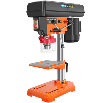 Small Woodworking Bench Drill Multifunction Desktop Driller Industrial Grade High Precision Home Drilling Machine Drilling Tools 10mm high speed pneumatic drill industrial grade driller with 90 degree 3 8 elbow corner