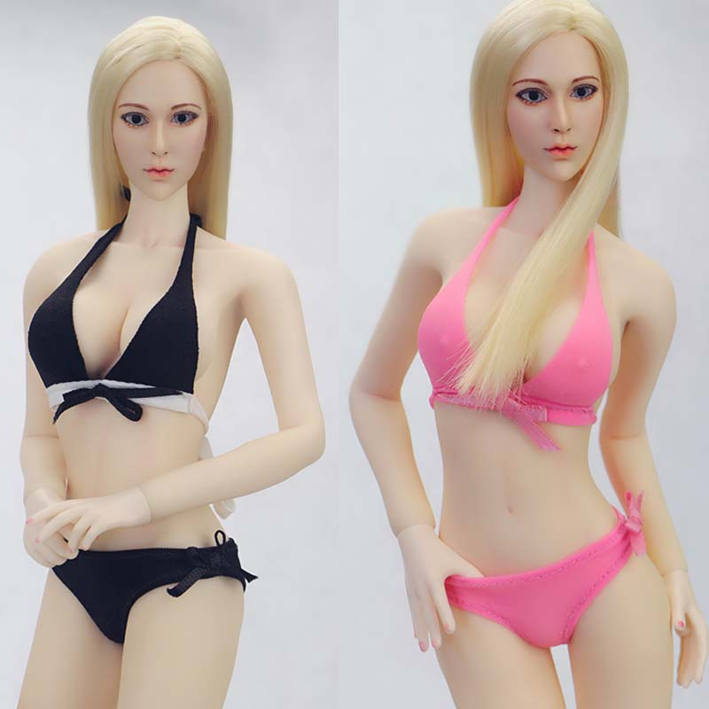 1//6th Slim Clothes Dress Model Fit 12inch Female PH Big Breast Body Collectible