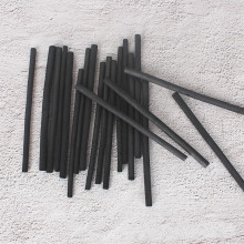 Хлопок ива уголь полоса эскиз рисунок эскиз уголь палочка 4-5 мм товары для рукоделия живопись торговля деревянная полоса углерода