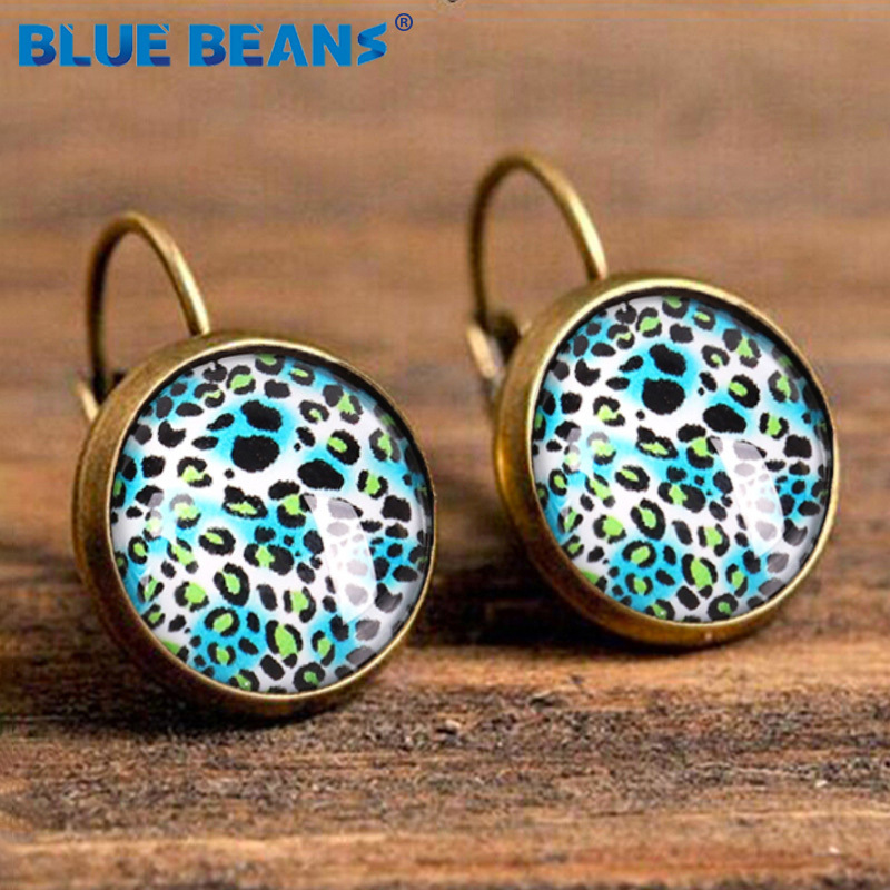 H9378c74c6668438e96a104a2aea3c43bK - Small Earrings Stud Women Star Earing Jewelry Punk Vintage Leopard Boho Fashion Bohemian Luxury Gifts Geometric Elegant Earring