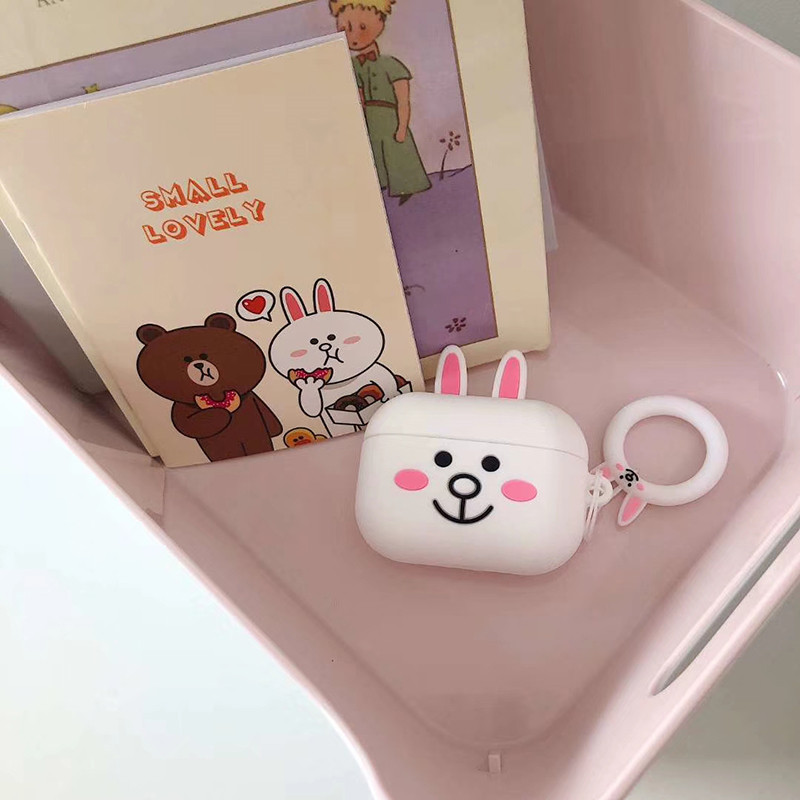 Cute 3D Silicone Case for AirPods Pro 143