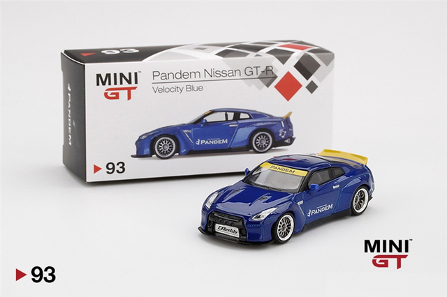 Nissan GT-R 35 PANDEM Custom Red*** Mini GT Collection TSM Model 1:64 NEU+OVP
